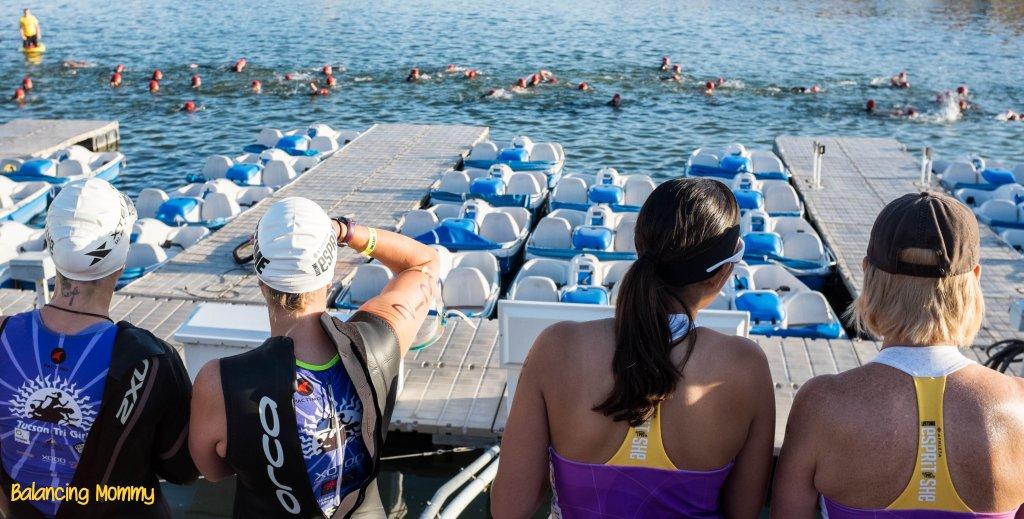 Esprit de She Triathlon Olympic Swimmers
